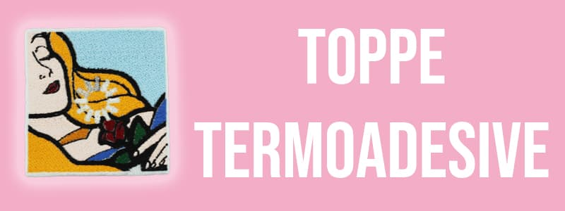 Toppe termoadesive banner toppetop